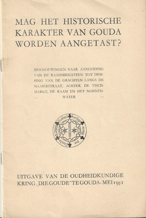 1951 cover die Goude a